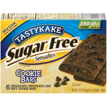 Tastykake Sensibles Sugar Free Chocolate Chocolate Chip Cookie Bar